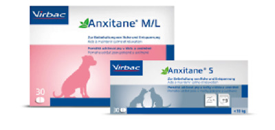Anxitane Small (Cats/Dogs <10.1kg) x 30 Tablets, Premium Service, Fast Dispatch