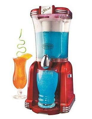 Nostalgia RSM650 Retro Vertical Slush Machine, Red
