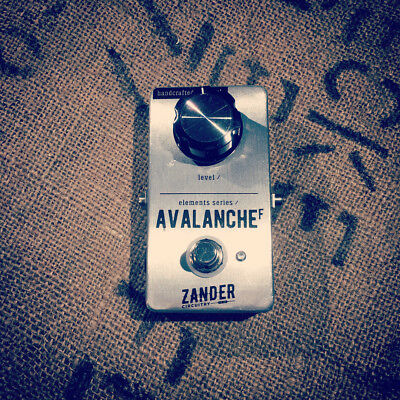 Zander Circuitry Avalanche F Fuzz Distortion Electric Guitar Effects Pedal
