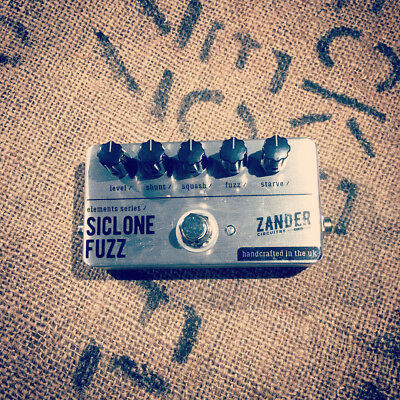 Zander Circuitry SiClone Fuzz Factory Distortion Electric Guitar Effects Pedal