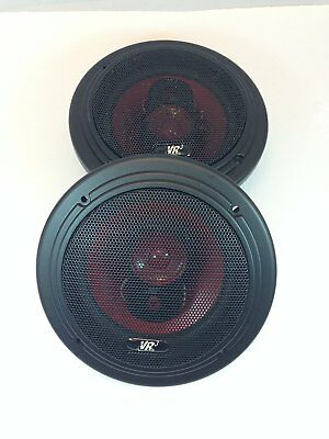 "VR SERIES 100W 1 PAIR 4/"" 3 WAY SPEAKERS WITH GRILLES 4 OHMS # ZRS400"