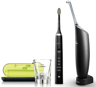 Philips HX8491/03 Sonicare Ultra Set DiamondClean & AirFloss BLACK EDITION NEU
