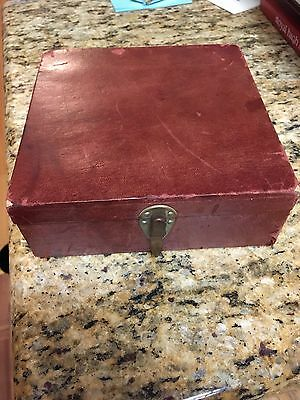 Antique Gaming set: Backgammon Checker Board, Cards,Multi use Dice, Chips..