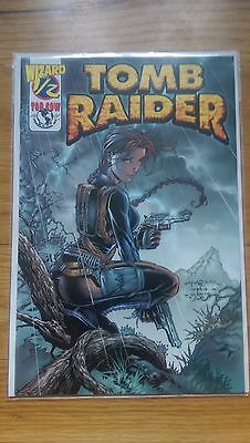 Lara Croft: Tomb Raider Issue 1/2 (Cover A) With Wizard COA