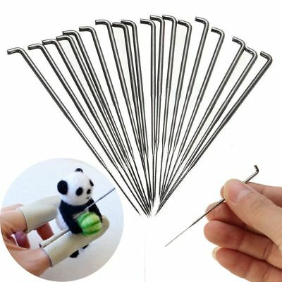 30PCS/SET 3.5/3.4/3 Inch Needles Felt Tools Wool Pin Knitting Accessories