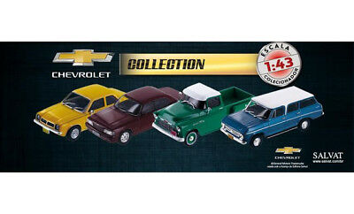1/43 Chevrolet Cars And Pickup Diecast Ixo Collection Brazil Mint Condition