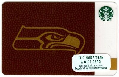 2017 Seahawks Starbucks gift card, brand new, just released,never swiped In hand