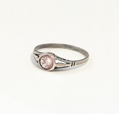 925 silver Ring with Swarovski Stones Big 51 delicate a8-01371