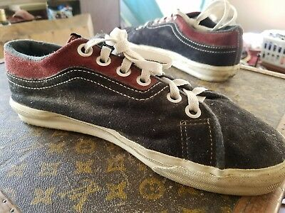 a3f53ca283 SIZE 10 VINTAGE vans shoes made in usa -  150.00