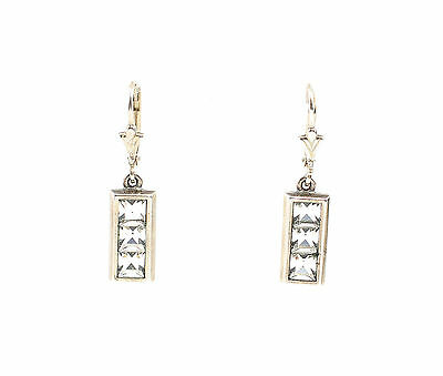 Silver 925 Earrings with Swarovski Stones a9-01428