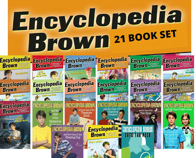 Encyclopedia Brown Complete Set + Sets the Pace (pb) Donald J Sobol 21 Books NEW