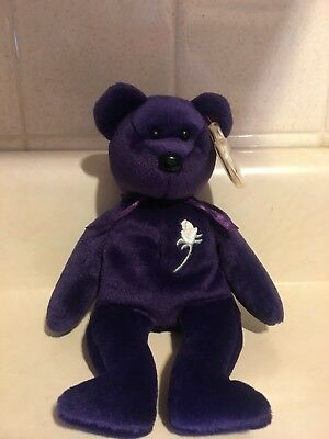 Princess TY Beanie Baby-RARE W/ ERROR MEMORIAL FUND