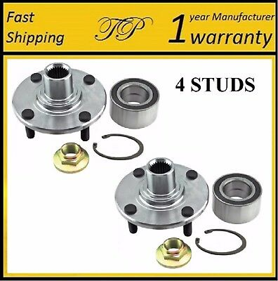 Front Wheel Hub & Bearing For 2000-2011 FORD FOCUS (PAIR)