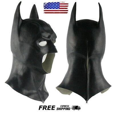 Batman Full Mask Cowl Adult The Dark Knight Rises Costume Acsry Cosplay Masks