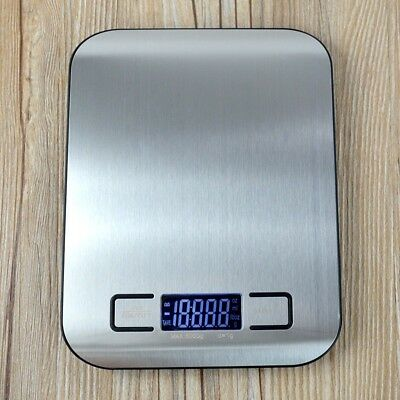 5kg/11b Digital LCD Electronic Kitchen Cooking Food Weighing Scales