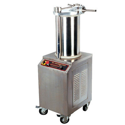 400KG/H Automatic Hydraulic Rapid Sausage Stuffer Sausage Filler Commerical Y