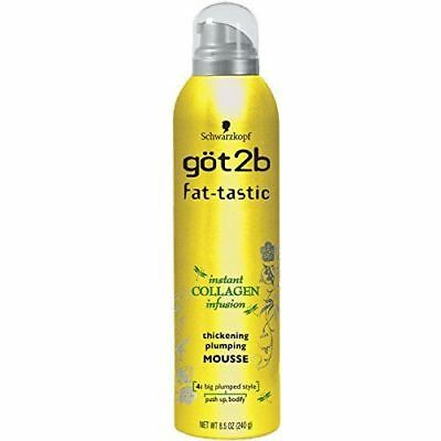 Got 2B Fat-Tastic Thick Plump Mousse 250 ml (Pack of 3)