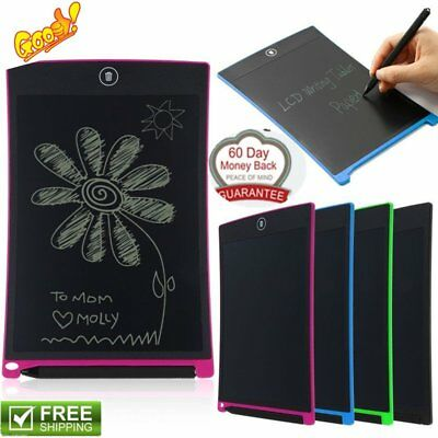 "8.5"" Inch LCD Writing Tablet Electronic Drawing Graphics Pad with Stylus lot"