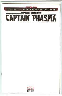 Journey to Star Wars the Last Jedi Captain Phasma #1 Blank Variant NM or Better