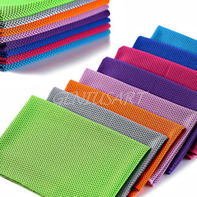 1x Cold Towel Summer Sports Ice Cooling Towel Hypothermia Cool Towel 80x30cm