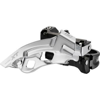 Shimano XT M780 10 Speed Double Front Derailleur Silver/Black, Band-On 34.9mm