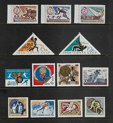 RUSSIA - mixed mint collection, 1957-1968 Sport, MNH & MH