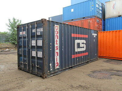 Shipping Containers 20 Ft Used Southampton Depot, Ex Shippers Good Quality