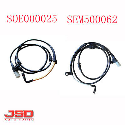 Pair Brake Pad Wear Sensor Set For BMW 1E90 E92 E93 2010-2013 Front 2 Rear