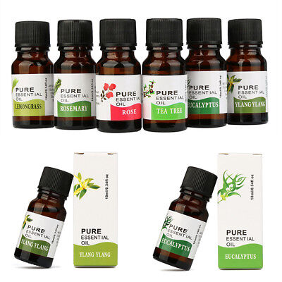 Natural Fashion Oils Aromatherapy Essential Fragrance Perfumed 10ml Beauty Care
