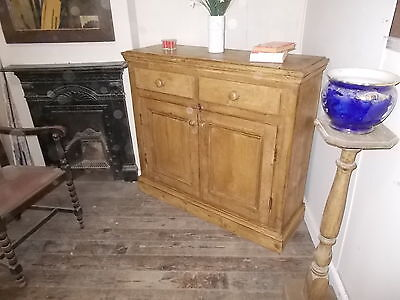 old country kitchen storage school cupboard no. 1030 / courier option available