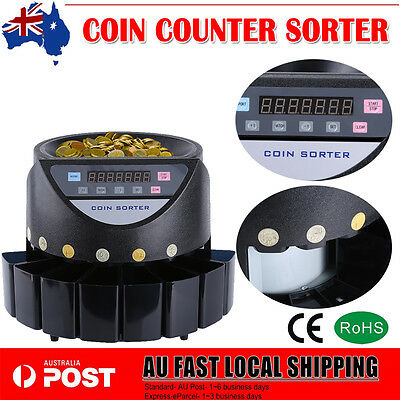 Australian Coin Counter Money Sorter Automatic Tool Counting Sorting Machine