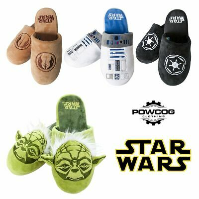 Official Star Wars Slippers Force Awakens Adult Slip On Mule Slippers Size 5-10