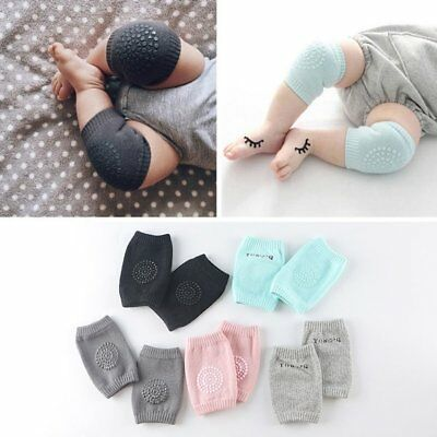 Fashion NEW Baby Crawling Knee Pads Safety Anti-slip Walking Leg Protector