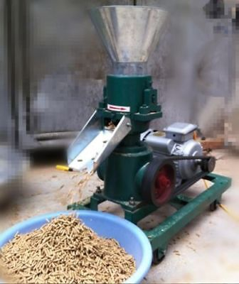 3KW 120 Model Pellet Mill Machine, Feed Pellet Mill Machine With Motor  b