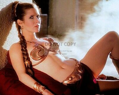 Actress Carrie Fisher Princess Leia Star Wars - 8X10 Publicity Photo (Fb-155)