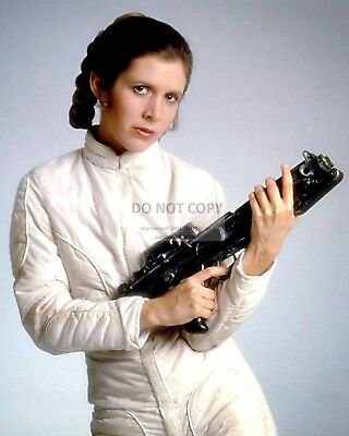 Actress Carrie Fisher Princess Leia Star Wars - 8X10 Publicity Photo (Fb-156)