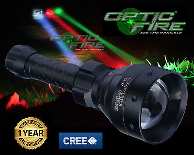 Opticfire® TX-67 T67 LED Hunting lamp light NV night vision IR infrared torch