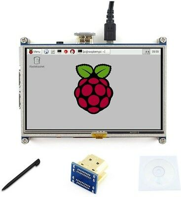 5 Inch LCD 800*480 Resistive Touch Screen Display HDMI Interface Drivers For