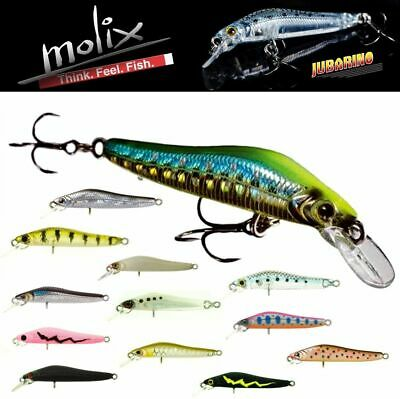 Molix  Light Finesse Slow Sinking Jerk Bait Lure Jubarino