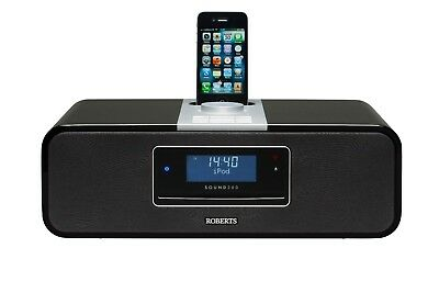 Roberts Sound200 CD/DAB/FM stereo digital sound system with dock