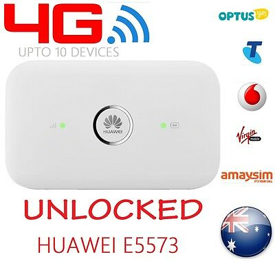 New & Unlocked Optus 4G Pocket Wifi Modem | Huawei E5573 | ==Premium Quality==