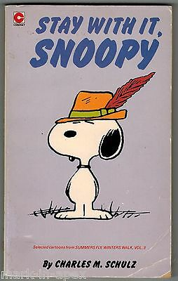 CORONET PEANUTS BOOK - #63 Stay With It, Snoopy - Schulz (PB)