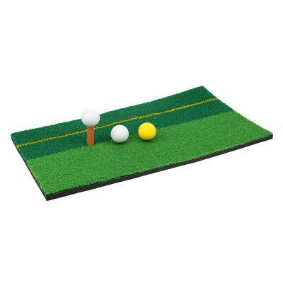 Durable Golf Hitting Mat Home Practice Pad 60 x 30cm Golf Training Aid - B#