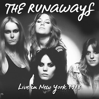 THE RUNAWAYS - Live In New York 1978. New LP + Sealed. **NEW**