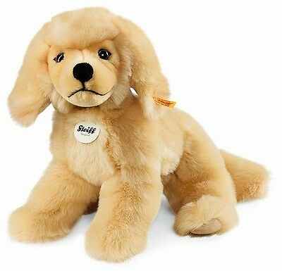 STEIFF LUXURY Lenni Golden Retriever Dog Puppy + Steiff Gift Box New 076961