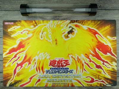 The Winged Dragon of Ra - Immortal Phoenix YuGiOh Playmat Free High Quality Tube