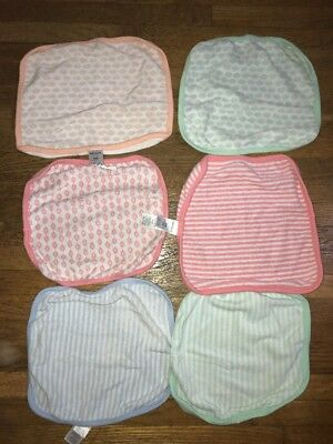 Carter's 6 Piece Baby Wash clothes Terry Cloth