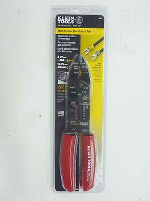 Klein 1001 Multi Purpose Electricians Tool  Wire Cutter stripper New in Package