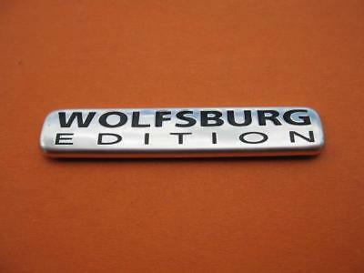 Vw Jetta Wolfsburg Edition Rear Side Emblem Logo Badge Sign Symbol Oem Used #9
