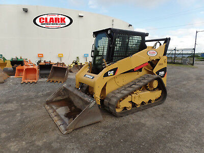 2012 CAT 259B3 skid steer loader